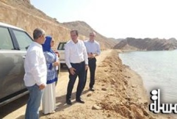 Maitha Al Mahrouqi conducts a field visit to Jabel Sifa and Al Khairan Resort Projects