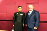 Tourism Minister of Thailand meets UNWTO Candidate from Seychelles