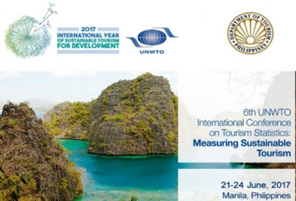 The Philippines will host the 6th UNWTO Conference on Tourism Statistics