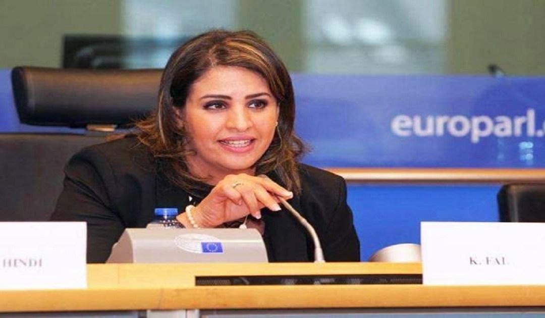 كوثر فال .. أول عربية مسلمة تنظم مؤتمر دولي بالبرلمان الأوروبي