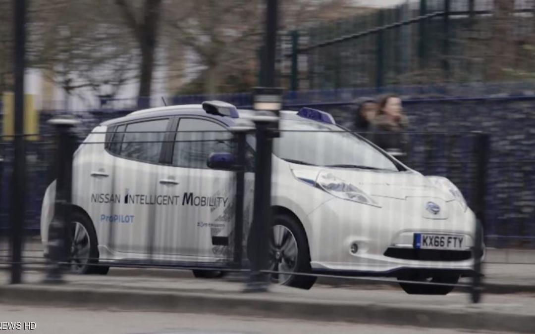 """سيارات ذاتية القيادة """"تغزو"""" شوارع لندن"""