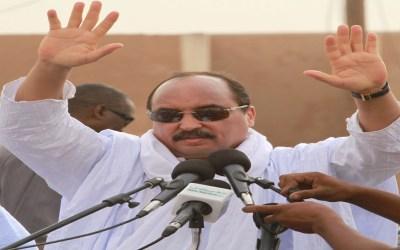 ولد عبد العزيز: العلاقات مع المغرب حسنة وننتظر تعيين سفير في موريتانيا