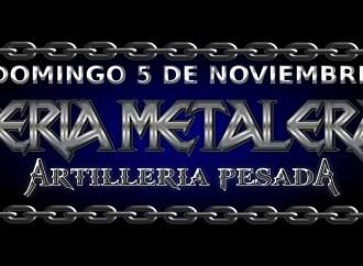 FERIA METALERA XVI – DOMINGO 05/NOVIEMBRE TEMPERLEY