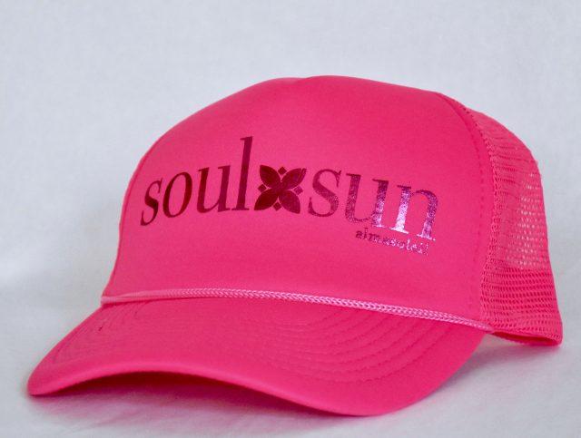 SOULXSUN Metallic Pink on Neon Pink hat