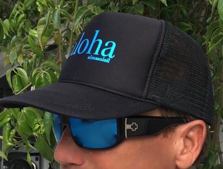 Aloha Black Trucker