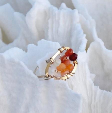 Fire Opal Ring III