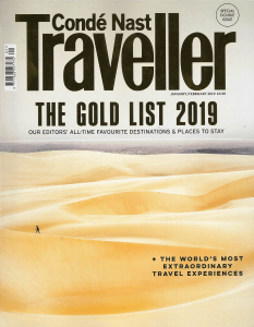 Conde Nast Traveller Jan Feb 2018 Cover
