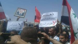 demonstration Aleppo