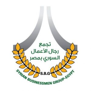 Syrian businessmen in Egypt logo