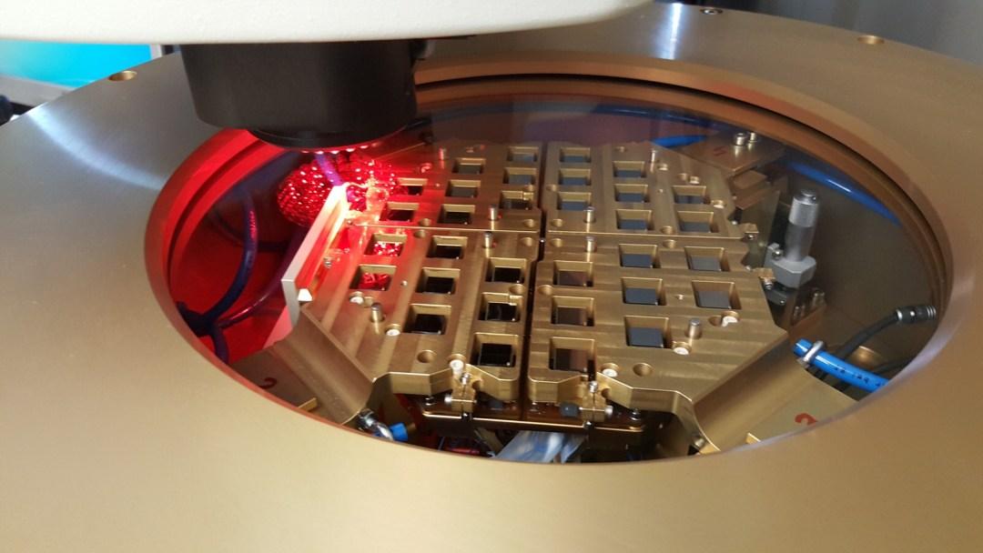 Caliste Alignement measurement - Almatech