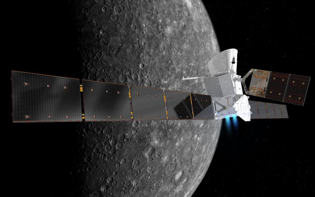 BepiColombo launch : First piece of hardware in space for Almatech!