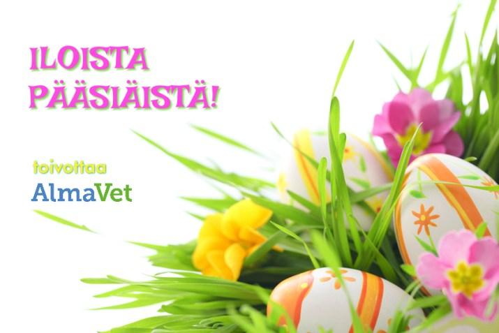 Hyvää pääsiäistä toivoo AlmaVet
