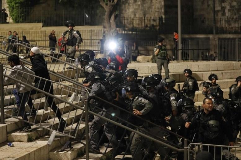 انتفاضة الاقصى-المحور العربي