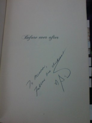 Before Ever After signed