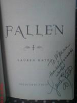 "Signed ""Fallen"""