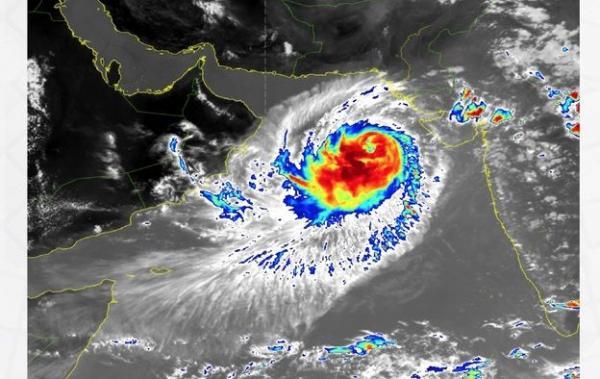 آخر تطورات الحالة المدارية في بحر العرب