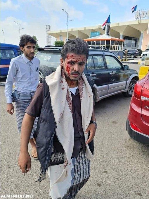سبب انفجار مطار عدن اليوم
