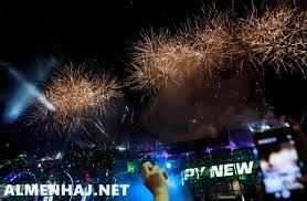 صور احتفالات راس السنة في الرياض 2022