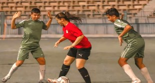 مباراة منتخب مصر للسيدات وفريق الرجال تثير جدلا واسعا