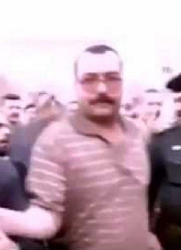 محمد ابراهيم المسلط رئيس حراس صدام حسين الشخصيين