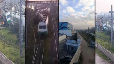 Photo of خروج قطار عن سكته بالبيضاء و ONCF يوضح: ارتطام عربتين فارغتين في عملية مناورة