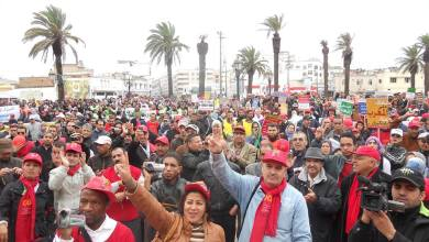 "Photo of الـ ODT تضرب يوم 20 فبراير احتجاجا على""سياسة القهر والظلم والإقصاء الاجتماعي"""