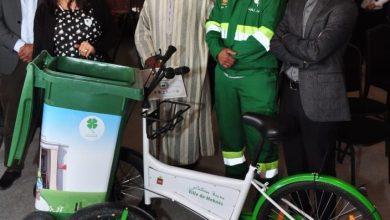 Photo of حفاظا على البيئة.. شركة نظافة مغربية تعرض دراجة لتجميع النفايات المنزلية