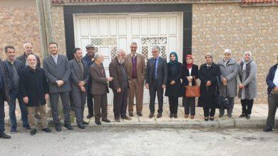 Photo of حقوقيون دوليون يزورون البيوت المشمعة لأعضاء العدل والأحسان