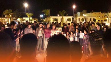 Photo of إحتجاجات بإقليم الدريوش تنديدا بوفاة الأب عبد الله حجيلي ـ (فيديو)