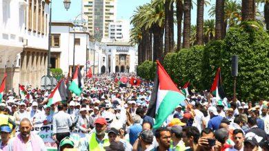 Photo of هيئات حقوقية تنظم وقفة احتجاجية أمام البرلمان دعما لفلسطين وتنديدا باتفاق التطبيع