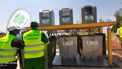 Photo of لأول مرة بالمغرب.. شركة نظافة تستخدم حاويات أزبال هيدروليكية تحت أرضية