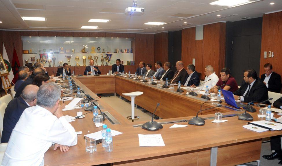 Photo of اجتماع طارئ بالرباط لأعضاء مكتب جامعة كرة القدم