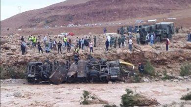 Photo of فاجعة الرشيدية.. الحصيلة المؤقتة للضحايا ترتفع إلى 17