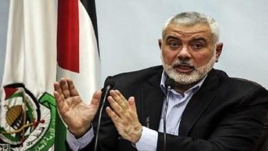 """Photo of إسماعيل هنية: """"الانتخابات تشكل فرصة لتحقيق المصالحة وترتيب البيت الفلسطيني"""""""