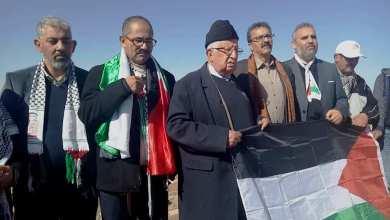 Photo of ويحمان بعد خروجه من السجن:الشعب المغربي يواجه خطر الاختراق الصهيوني