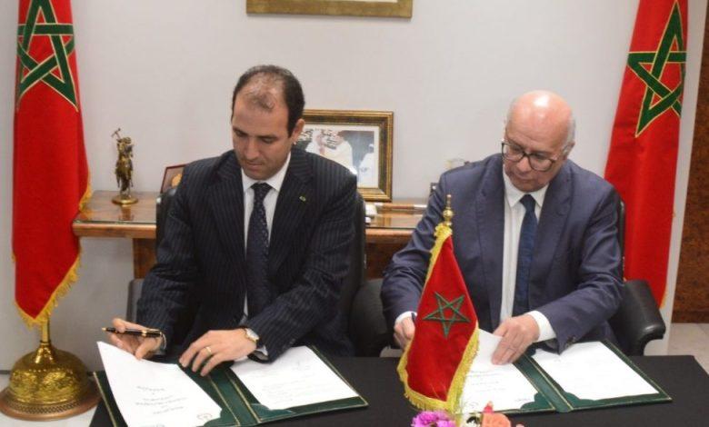 إبرام اتفاقية شراكة بين مؤسسة وسيط المملكة واللجنة الوطنية لمراقبة حماية المعطيات ذات الطابع الشخصي