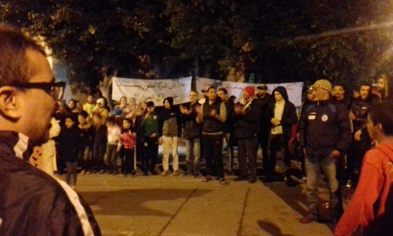 Photo of سكان أقدم حي سكني عمالي بالدار البيضاء يحتجون ضد قرار إفراغ مفاجئ