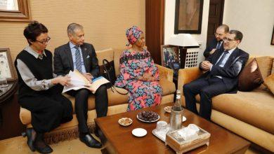 "Photo of العثماني يستعرض ""إنجازات المغرب"" لحقوق النساء أمام المديرة التنفيذية للأمم المتحدة للمرأة"