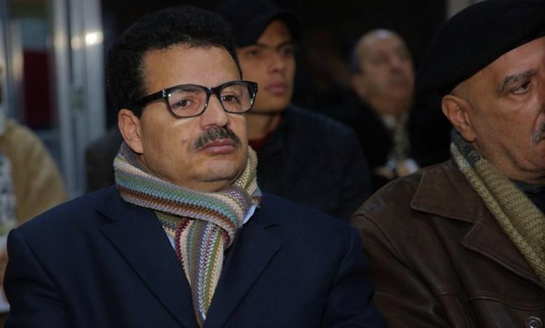 الناشط الحقوقي محمد الزهاري