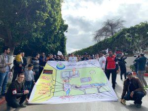 جانب من احتجاجات سابقة لحركة الممرضين و تقنيي الصحة
