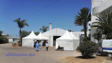 Photo of مستشفى ميداني بالحي المحمدي لتقييم الحالات المصابة بكوفيد-19 لتوجيهها للعزل بالمنزل