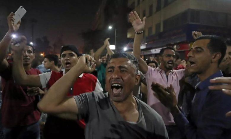 احتجاجات مصرية ضد السيسي في جمعة الغضب.. والأمن يعتقل العشرات