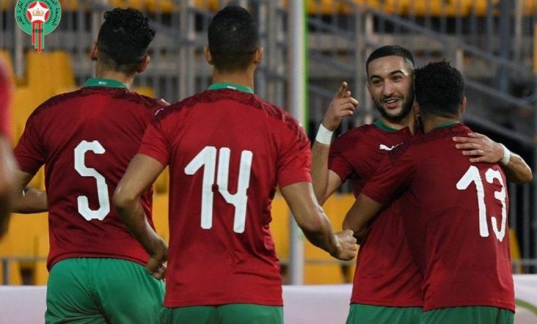 زياش يقود المنتخب المغربي لتخطي مضيفه إفريقيا الوسطى