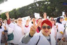 Photo of الممرضون يعودون للاحتجاج بعد واقعة التعنيف بالرباط