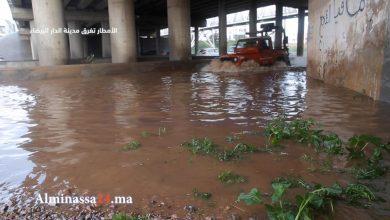 """Photo of غرق قنطرة البرنوصي""""الدارالبيضاء"""" مشاهد كارثية..من يتحمل المسؤولية (فيديو)"""