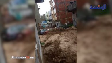 Photo of يا ربي السلامة: سيول خطيرة و فيضانات تغرق مدينة تطوان (فيديو)