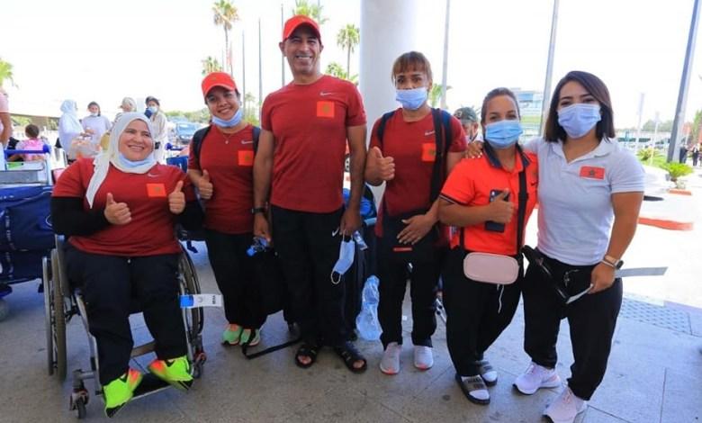 البارالمبيون المغاربة يدخلون غمار المنافسات في طوكيو بدءا من الجمعة