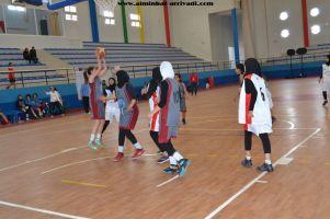 Basketball cadettes Jeux Scolaires championnat inter-ligues Tiznit 17-03-2017_10