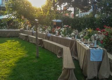 nunta in gradina