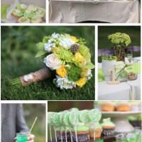Inspiratie nunta in verde